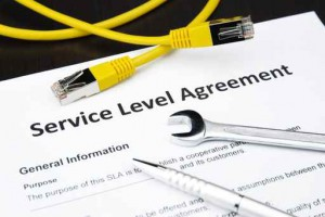 IT service level agreement